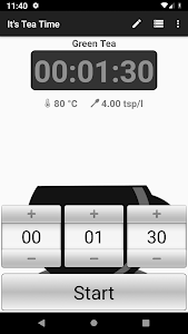 screenshot of Tea Time - Kitchen Timer version 1.36