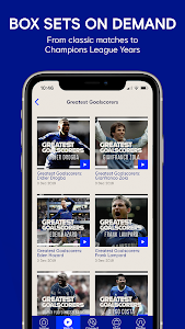 screenshot of Chelsea FC - The 5th Stand Mobile App version 1.29.0
