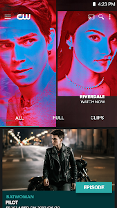 screenshot of The CW version Varies with device