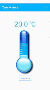 screenshot of Thermometer version 1.2