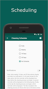 screenshot of Timely Cleaner for WhatsApp version 2.2.8