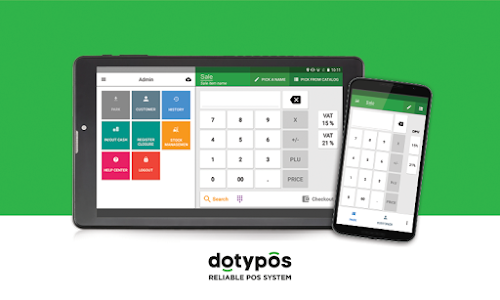 screenshot of Dotypos Point of Sale version 1.223.23