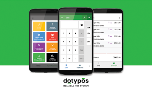 screenshot of Dotypos Point of Sale version 1.227.22