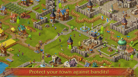 screenshot of Townsmen version Varies with device
