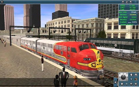 screenshot of Trainz Simulator version 1.3.7