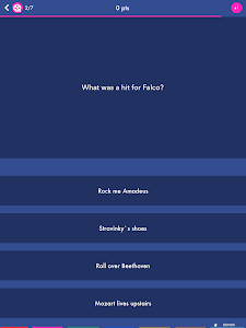 screenshot of Trivial Quiz - The Pursuit of Knowledge version 1.6.3