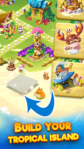screenshot of Tropicats: Play Match 3 & Decorate Paradise Island version 1.12.113