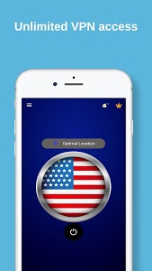 screenshot of USA VPN - Free VPN Proxy & Wi-Fi Security version 4.5t