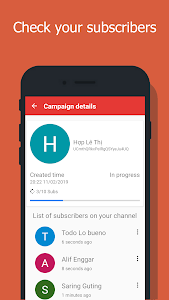 screenshot of USub - Sub4Sub - get subscribers for channel version 4.2