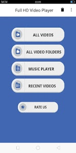 screenshot of Video Player 2 - All format Video player HD version 1.4
