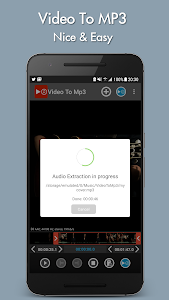 screenshot of Video to mp3 version 4.2