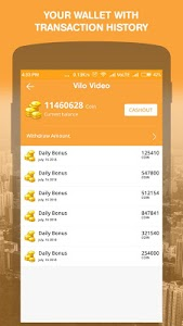 screenshot of Vilo Video -Funny Video Clip, Earn Reward Money version 1.7