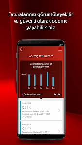 screenshot of Vodafone Yanımda version 9.2.3