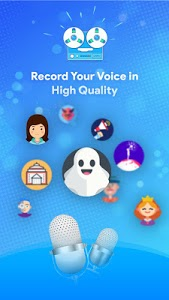screenshot of Funny Voice Changer Male To Female & Audio Effects version 1.3.0