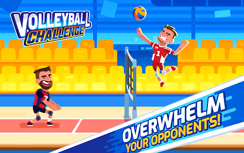 screenshot of Volleyball Challenge - volleyball game version 1.0.3