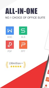 screenshot of WPS Office - Free Office Suite for Word,PDF,Excel version 12.6