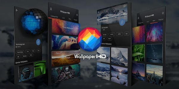 screenshot of Background (HD Wallpapers) version 1.5