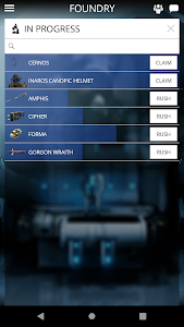 screenshot of Warframe version 4.3.12.3