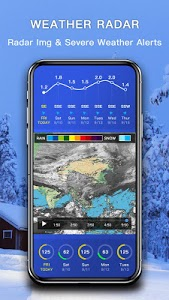 screenshot of Weather - The Most Accurate Weather App version 1.0.2.4