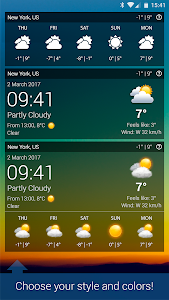 screenshot of Weather XL PRO version Varies with device