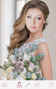 screenshot of Wedding Hairstyles version Varies with device