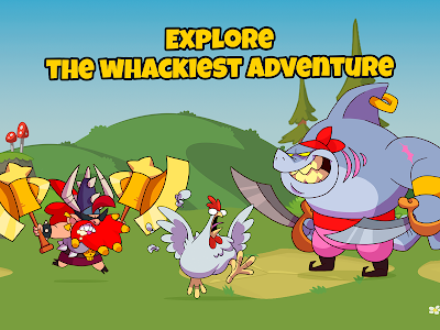 screenshot of What The Hen: Enter The Dragons! version 2.7.3