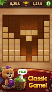 screenshot of Wood Block Puzzle version 5.0