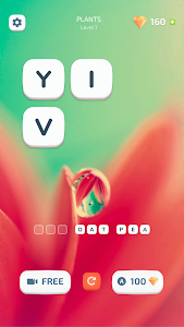 screenshot of Wordy: Word Games Puzzle version 1.5