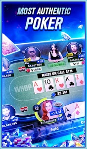 screenshot of World Series of Poker – WSOP Free Texas Holdem version 5.5.0
