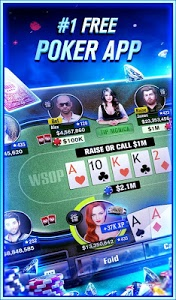 screenshot of World Series of Poker – WSOP Free Texas Holdem version 2.15.0