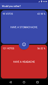 screenshot of Would you rather version 2.1