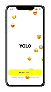 screenshot of YOLO Q&A -- Happy Yoloing! version 1.0