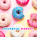Download Yummy Wallpaper Colorful Donuts Theme 1.0.0 APK