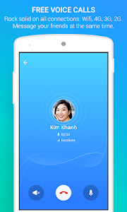 screenshot of Zalo - Video Call version Varies with device