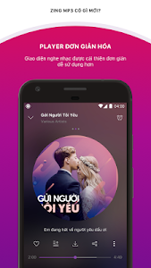 screenshot of Zing MP3 version Varies with device