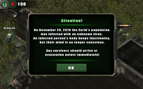 screenshot of Zombie Shooter version 2.3.6