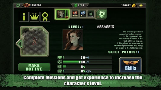 screenshot of Zombie Shooter version 2.4.10