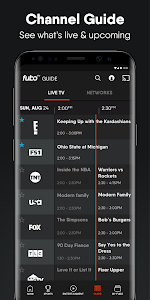 screenshot of fuboTV: Watch Live Sports, TV Shows, Movies & News version 4.25.0