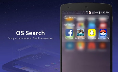 screenshot of Launcher for Phone 7 & Plus version 4.0.0.1