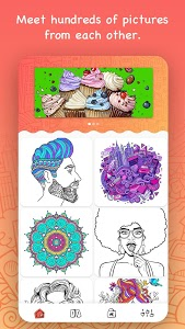 screenshot of iPaint - Coloring Book version 1.1.9