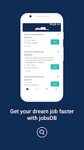 screenshot of jobsDB Job Search version 3.9.4