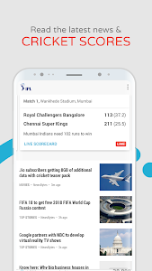 screenshot of mCent Browser - Recharge Browser version 0.13
