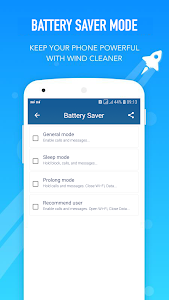 screenshot of phone cooler, battery saver version 4.3